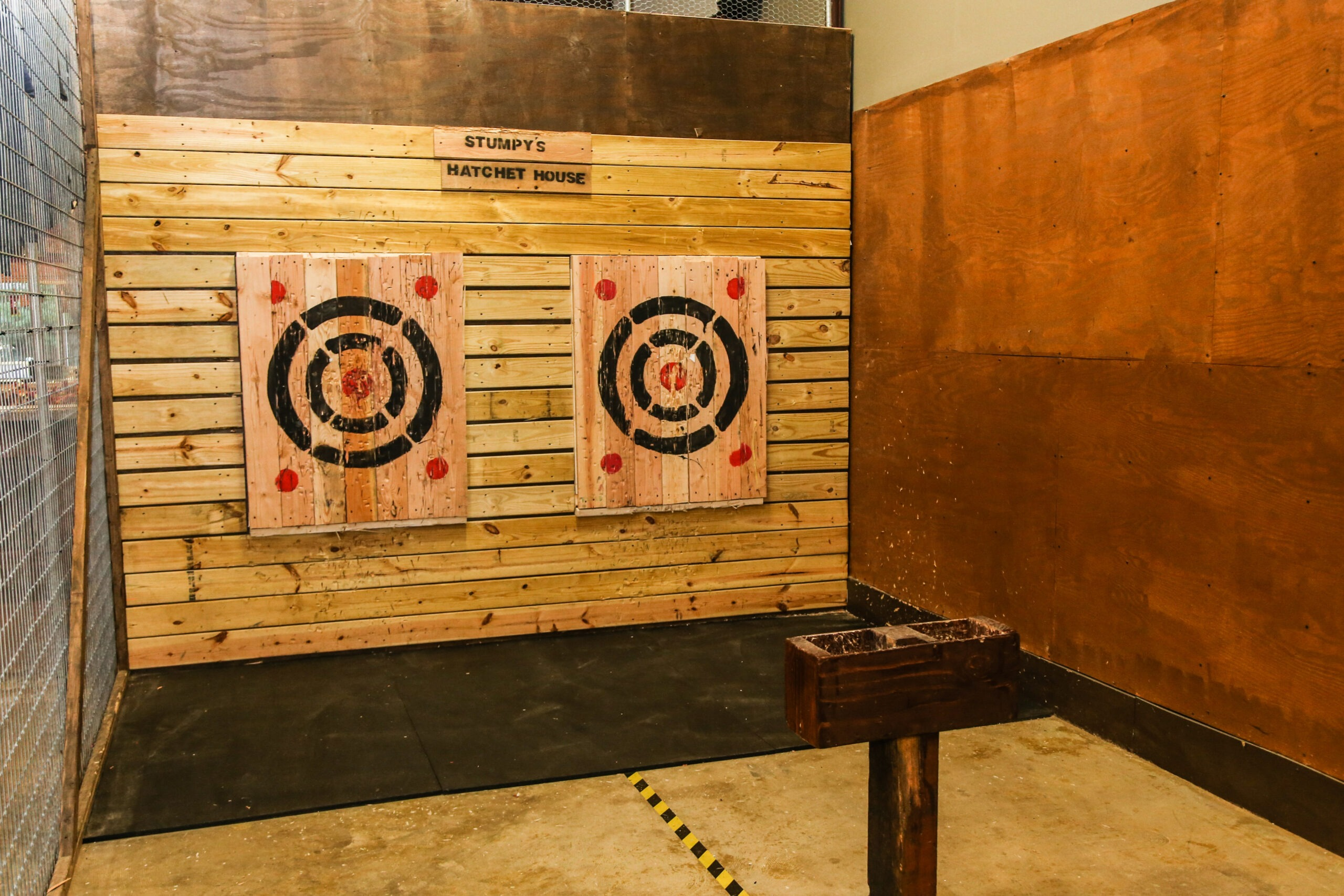 Safe, Indoor Fall Fun with Stumpy's Hatchet House
