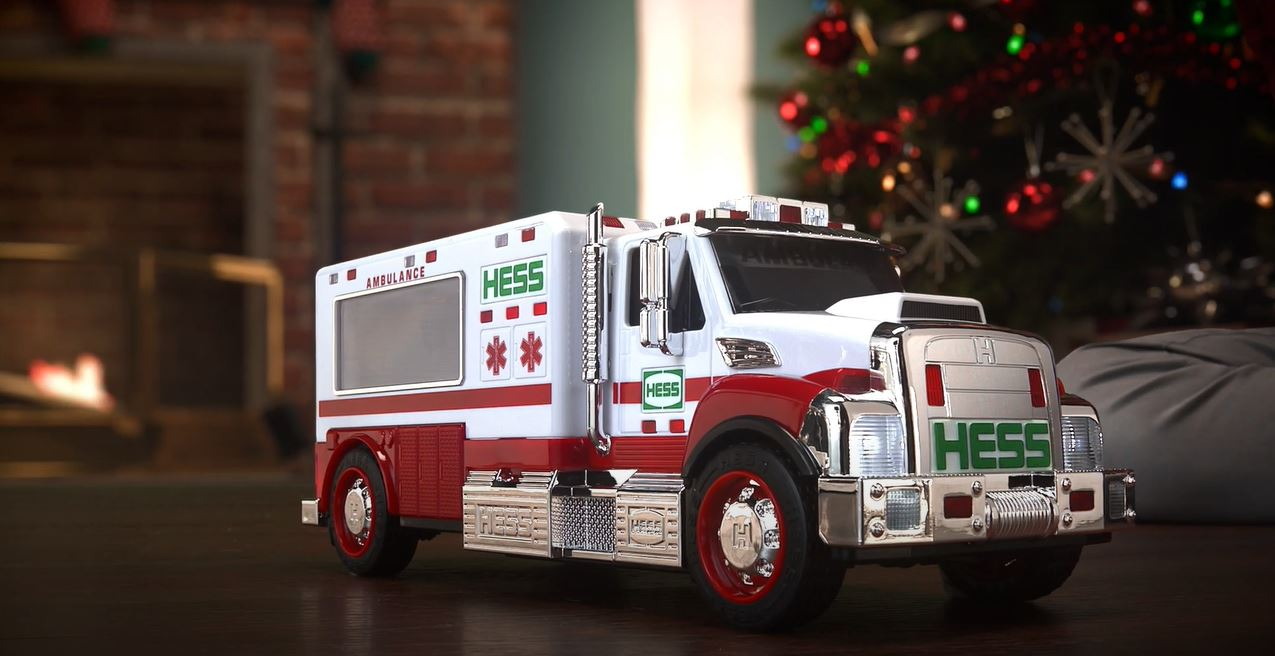 Black Friday Shopping: Hess Toy Ambulance and Rescue Truck