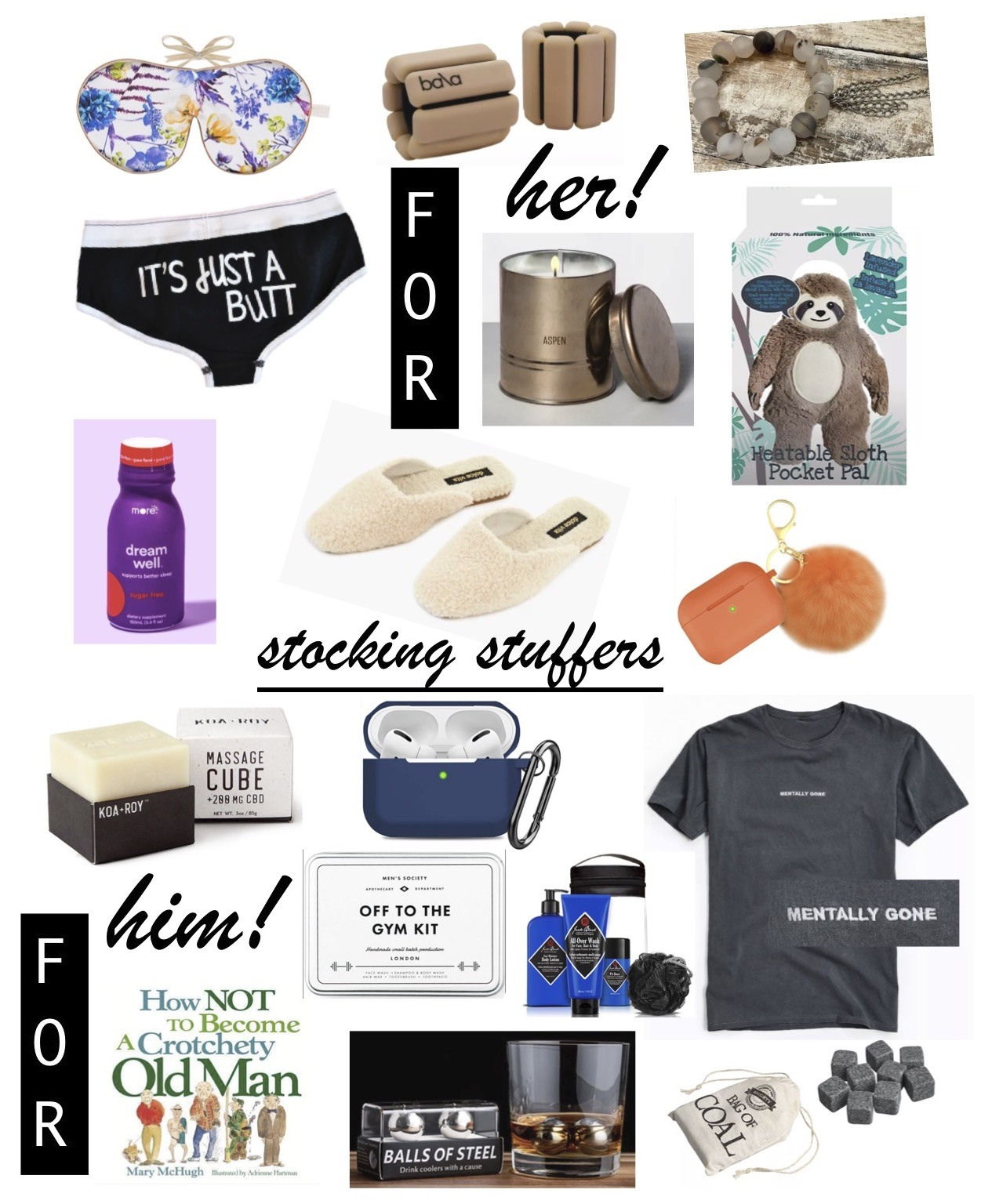 Stocking Stuffers for Her & Him (Mostly Under $50!)