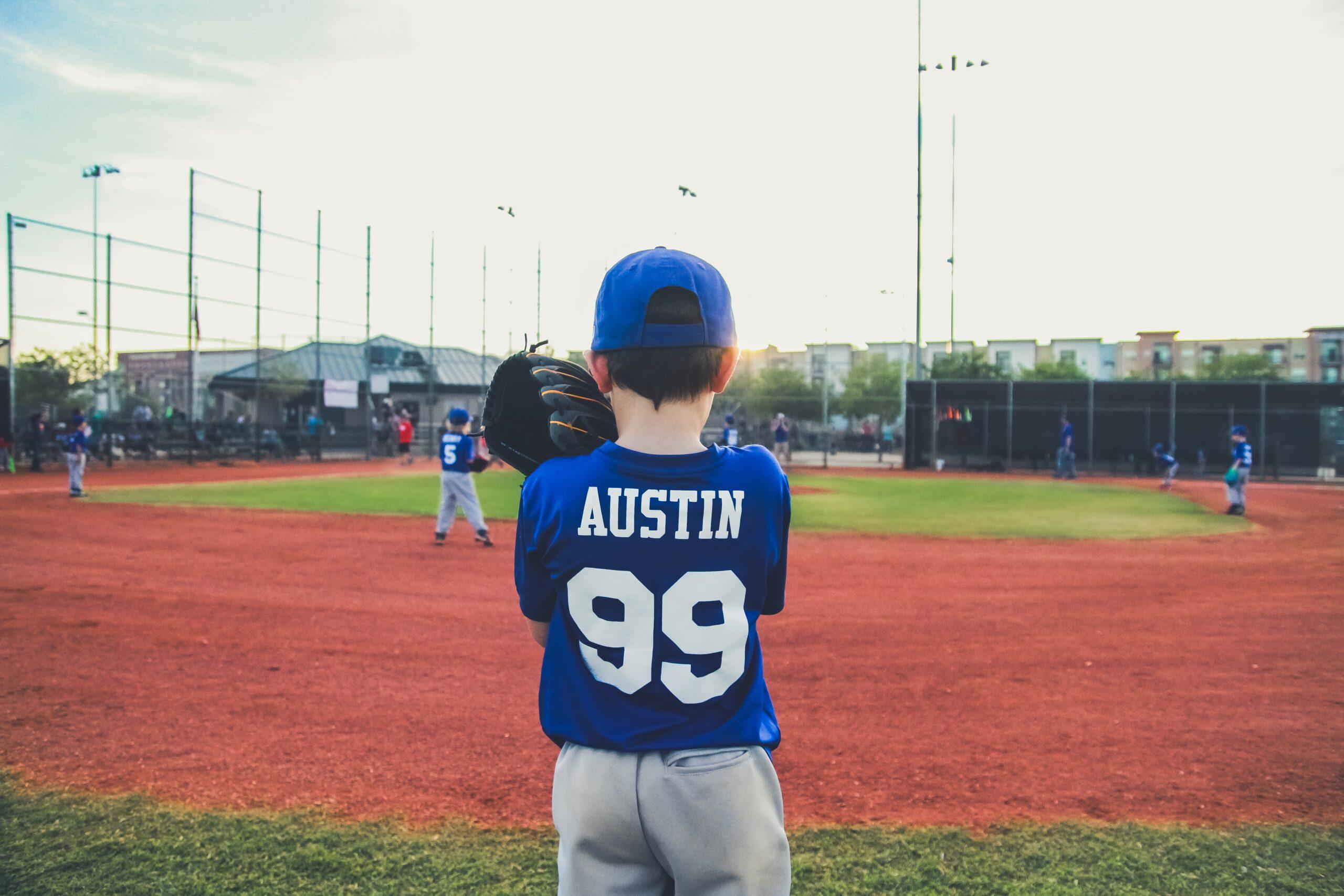 """Kids At Ad"" Series: A Celebration Of Springtime Baseball"