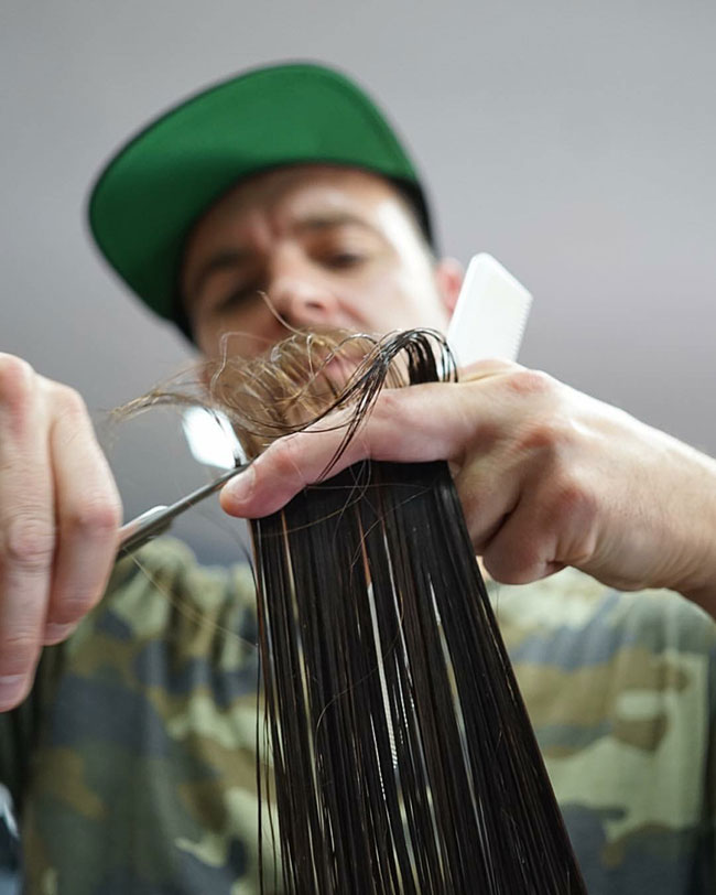 Hair Cutting Workshop with DJ Muldoon