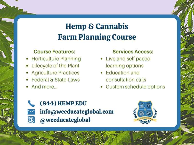 hemp cannabis farm planning