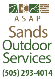 Parking Lot Sweeping & Landscaping — Albuquerque, NM —Sands Outdoor Services