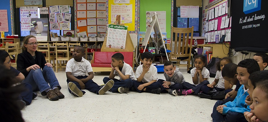 Children are engaged at WHEDco's After-School Programs
