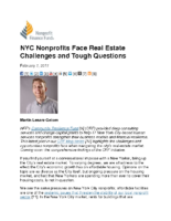 02-07-2017 Nonprofit Finance Fund_NYC Nonprofits Face Real Estate Challenges and Tough Questions