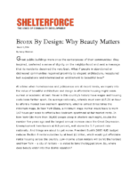 03-01-2004 Shelterforce_Bronx By Design