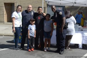NYPD at Bronx Summer Fest 2016.