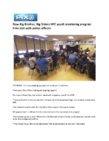 04-09-2018 Pix11_New Big Brother Big Sisters NYC youth mentoring program links kids with police officers