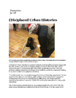 07-10-2018 Humanities for All_Displaced Urban Histories