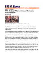 08-08-2019 Bronx Times_NYC Cultural Affairs releases Morrisania Cultural Study