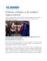 09-19-2019 El Diario NY_El Bronx celebrara su diversidad y riqueza