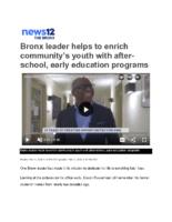 02-11-2020 News 12 Bronx_Bronx leader helps to enrich community
