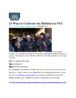 11-06-2019 Travel Pulse_23 Ways to Celebrate the Holidays in NYC