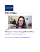 07-08-2020_BronxNet_OPEN_WHEDco
