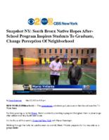05_27_2021_CBSNewYork_Snapshot_NY_Snapshot NY_South_Bronx_Native_Hopes_After_School_Program_Inspires_Students_To_Graduate_Change_Perception_Of_Neighborhood