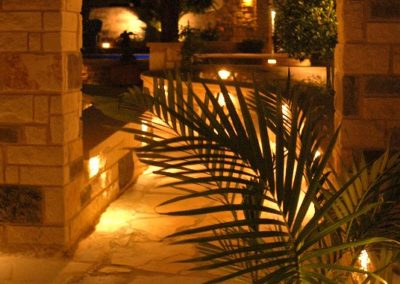 Masonry and LED lighting