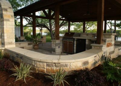 Outdoor Kitchen and Masonry