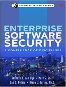 Enterprise Software Security book cover