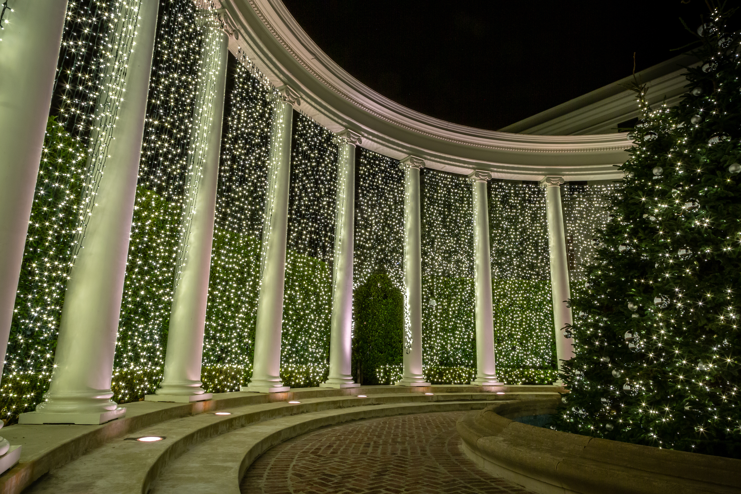 Christmas Light Installation Beverly Hills 15