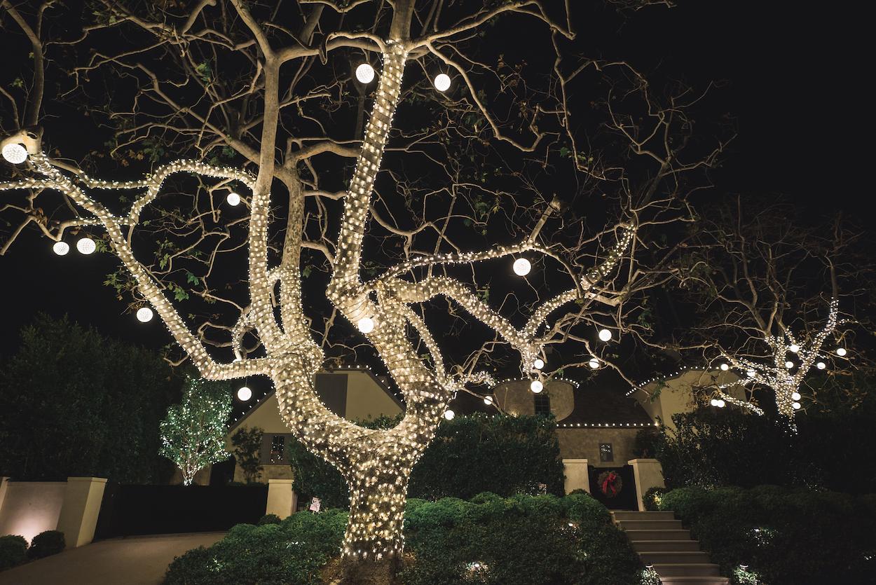 Christmas Light Installation Los Feliz