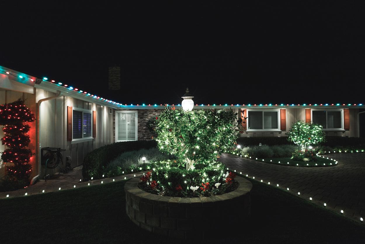 Christmas Light Installation Northridge 3