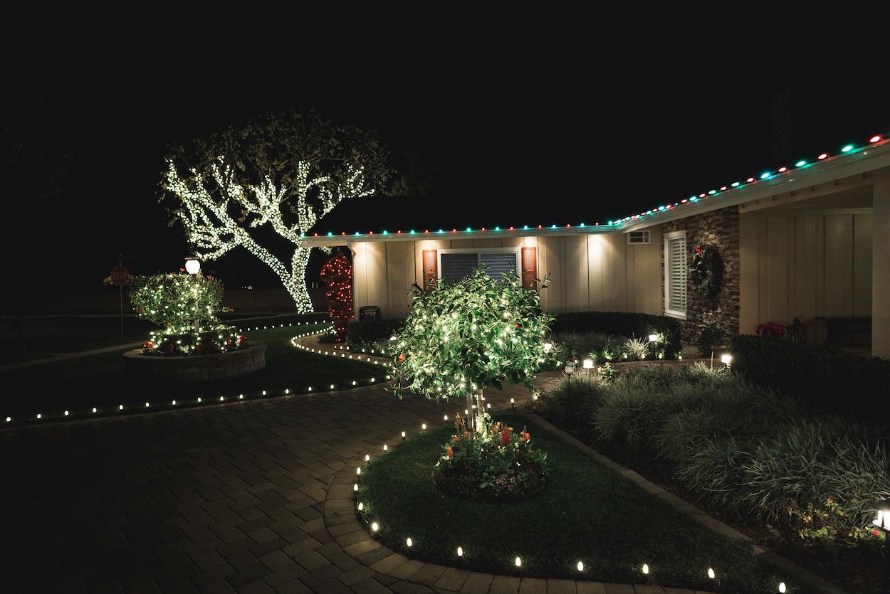 Christmas Light Installation Northridge 5