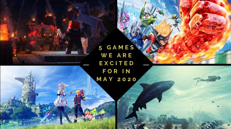 upcoming games in may