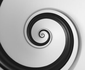 spiralling to infinity
