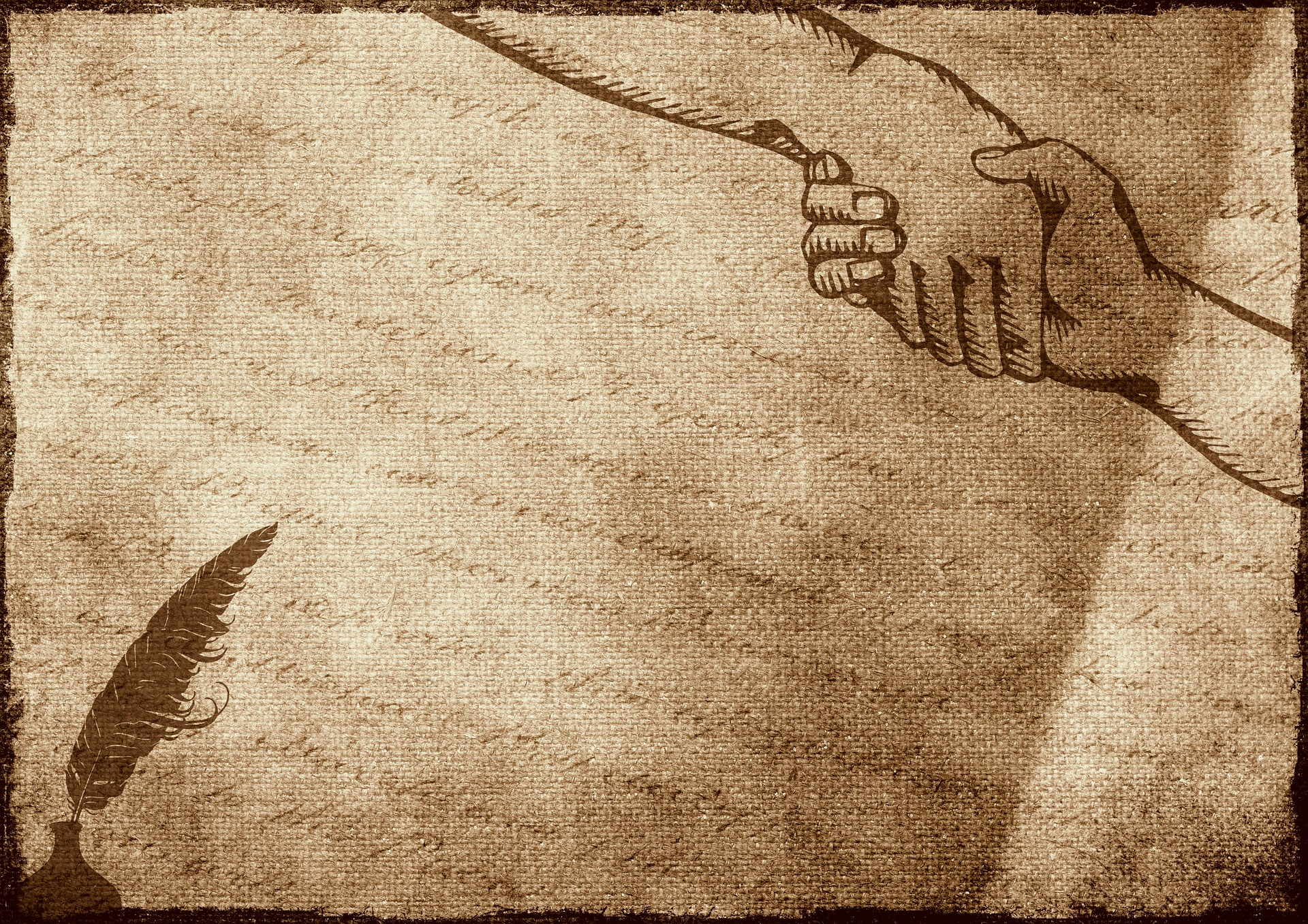 image of parchment contract