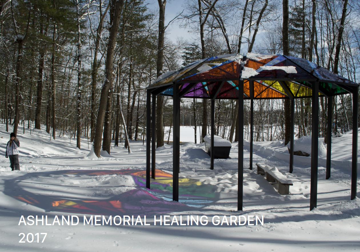 Ashland MA Memorial Garden Pavilion Dan Borelli