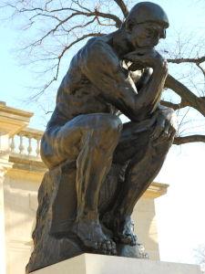 Rodin's Thinker in Philadelphia