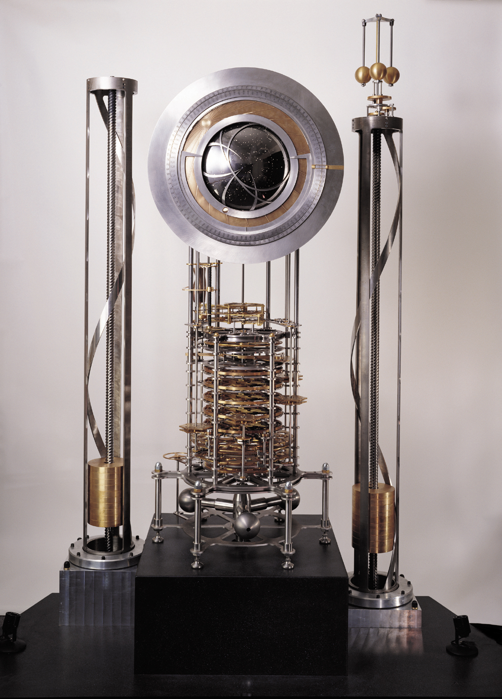 Prototype Clock of the Long Now, By Rolfe Horn, courtesy of the Long Now Foundation
