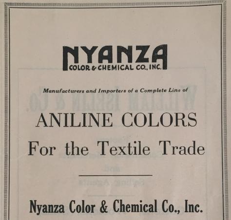 NYANZA Chemical Brochure Cover Dan Borelli