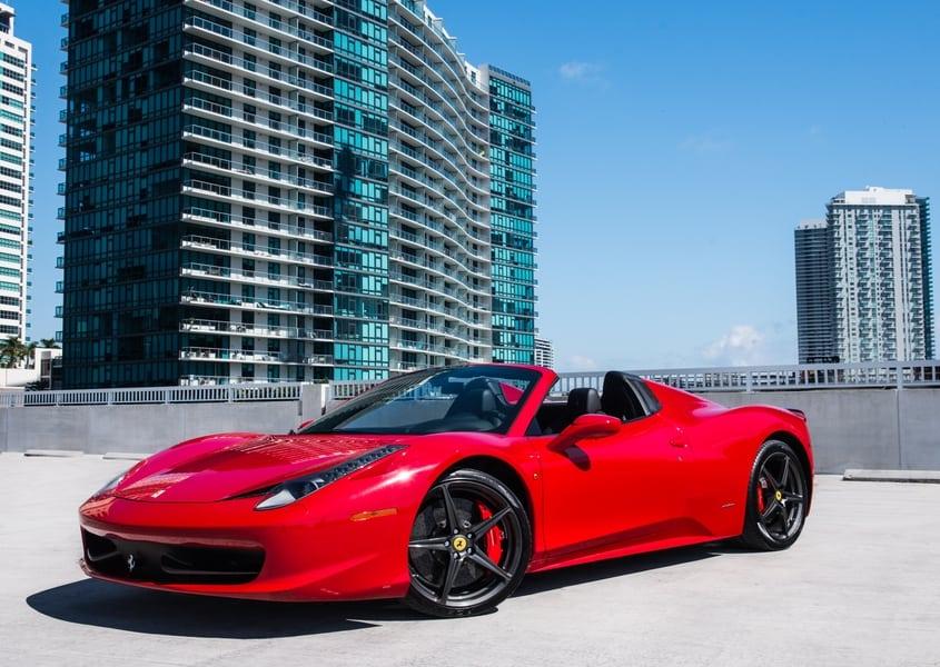 Ferrari 458 Spider Rental Miami