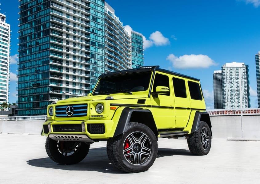 Mercedes benz Rental Miami