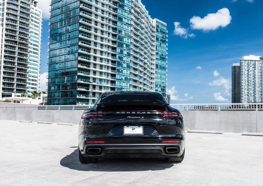 Porsche Panamera for rent in Miami