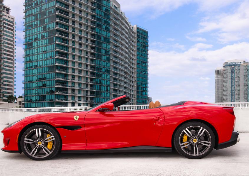 Ferrari Portofino Rental