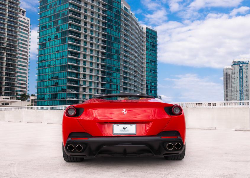 Ferrari Portofino for rent in Miami