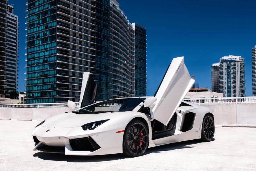 Lamborghini Aventador Rental Miami