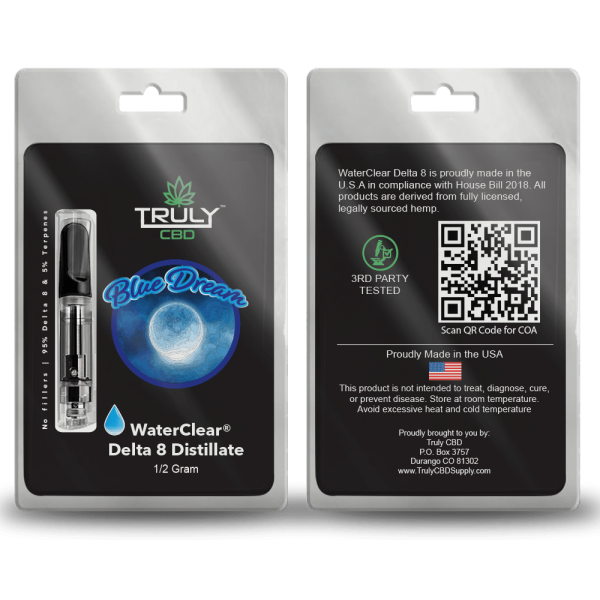 Blue Dream Delta 8 Cartridge .5g