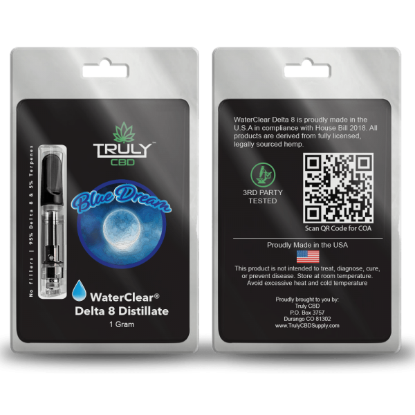 Blue Dream Delta 8 Cartridge 1 Gram