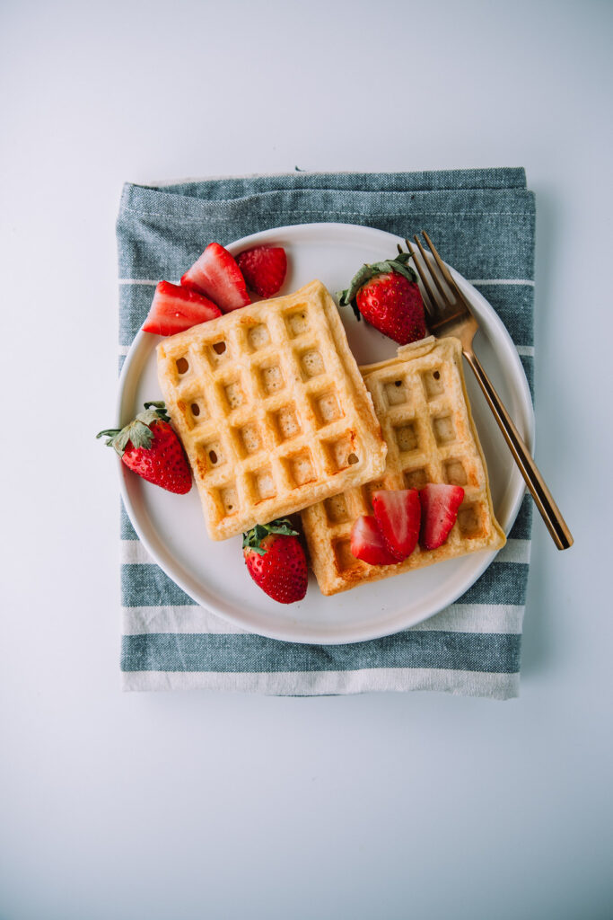 Vanilla Protein Waffles