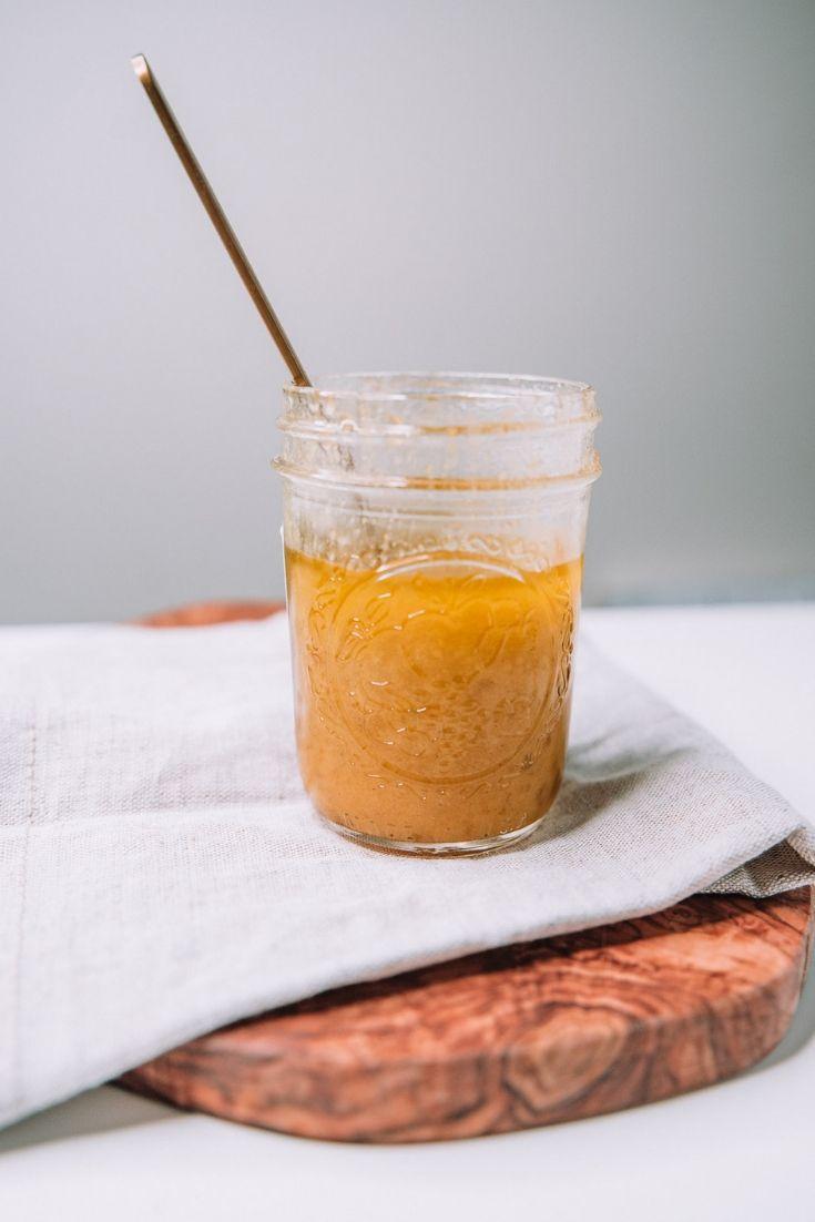 Peach Jam Vinaigrette Recipe by Mash and Spread