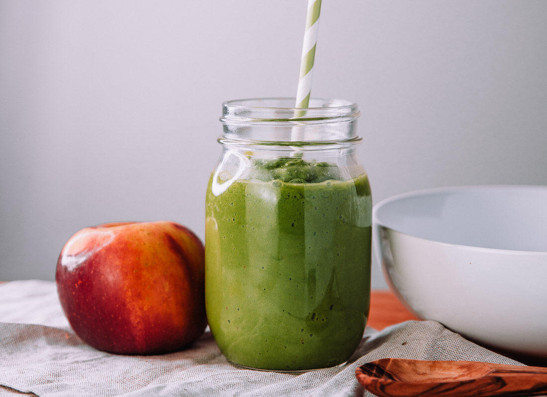 Apple-Honey-Avocado-Smoothie