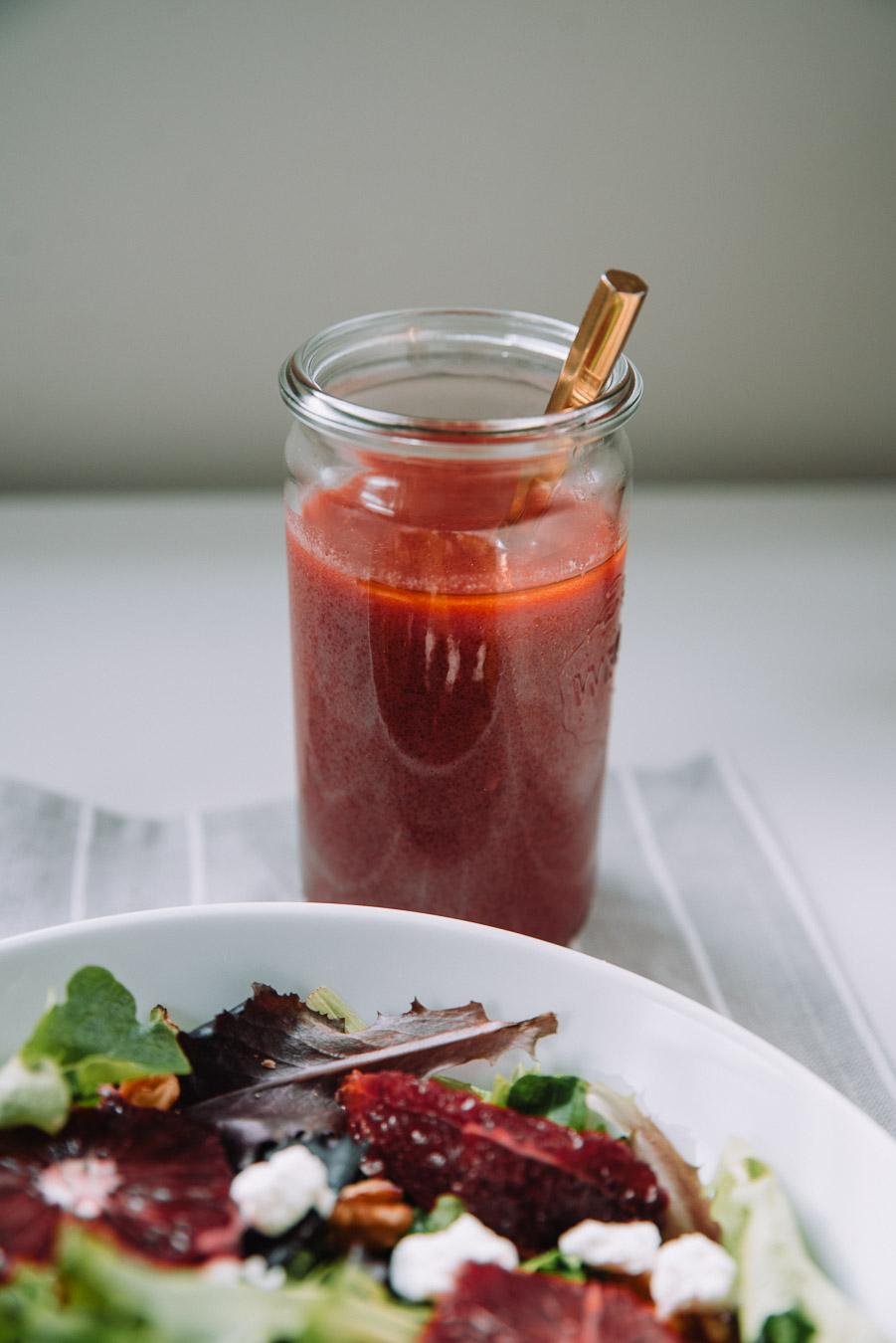 Blood Orange Salad and Vinaigrette