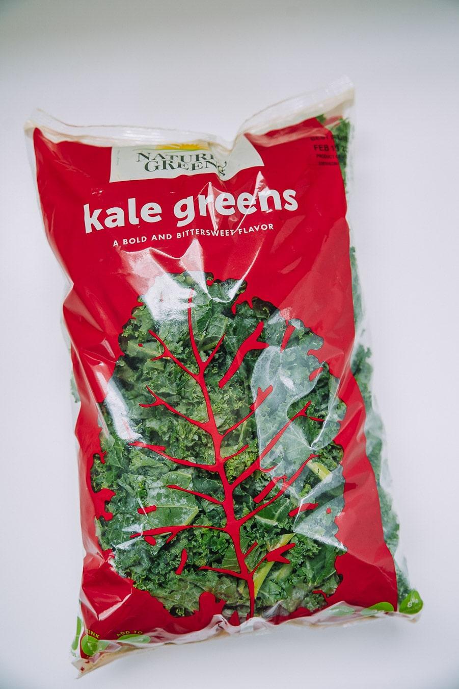 Breakfast Sandwich Crispy Kale