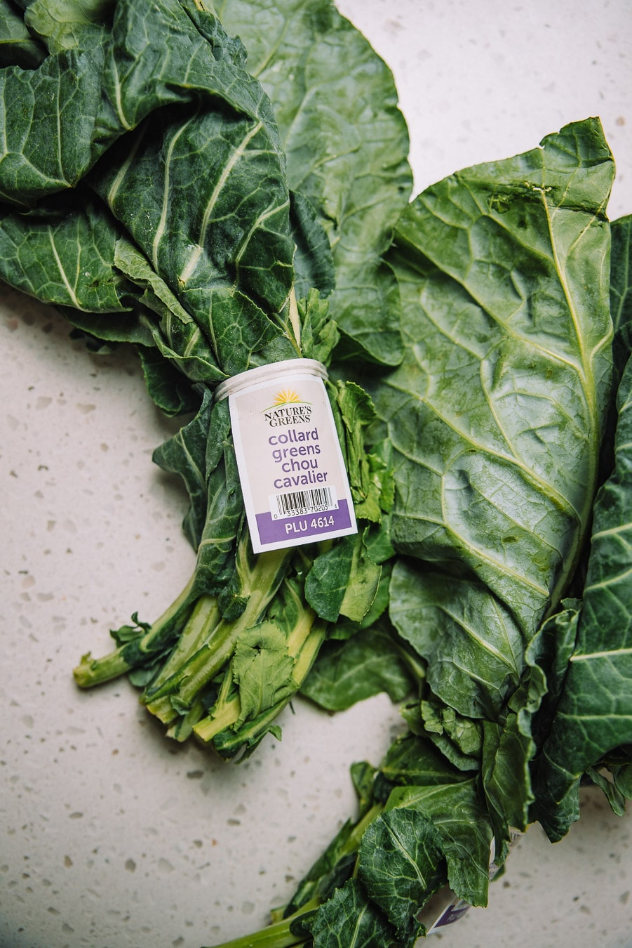 How to wash bunched leafy greens