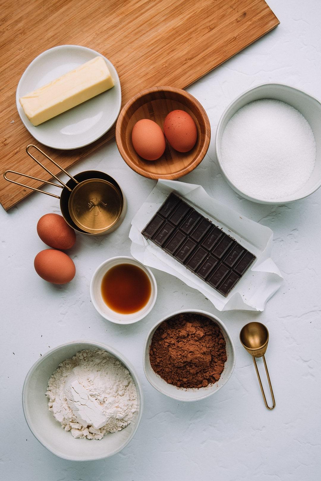 Chocolate Fudge Brownies ingredients