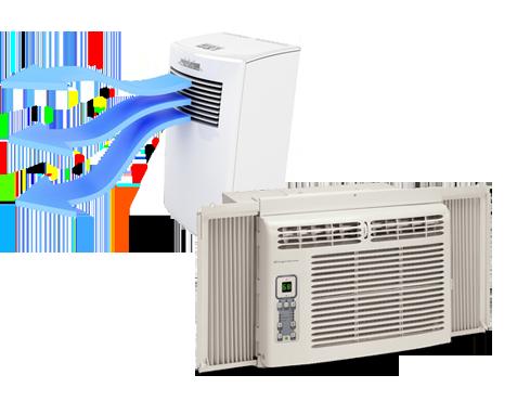 Window unit vs portable air