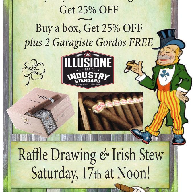 Liberty Tobacco St. Patty's Day Sale